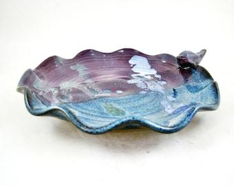 Second sale - Bird plate, butter dish, soap dish