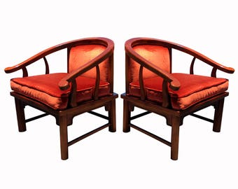 Vintage Ming Lounge Chairs by Century Chair Company