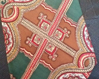 Polo by Ralph Lauren - Vintage Necktie - Paisley Print - Free U.S. Shipping