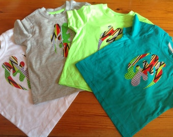 African appliqué Gye Nyame cotton summer T-shirts