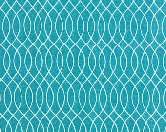 Flannel Hugaboo in Turquoise by Deb Strain 1/2 Yard