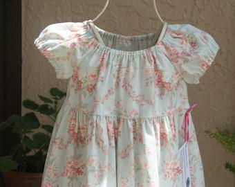 Girls Little Southern Belle floral dress.   sizes 5 thru 8