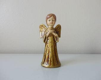VINTAGE 1960s gold christmas ANGEL - japan