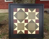 3' Barn Quilt - Road to California