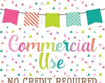 50% OFF SALE Commercial Use No Credit Required for Planner Girl Bundle