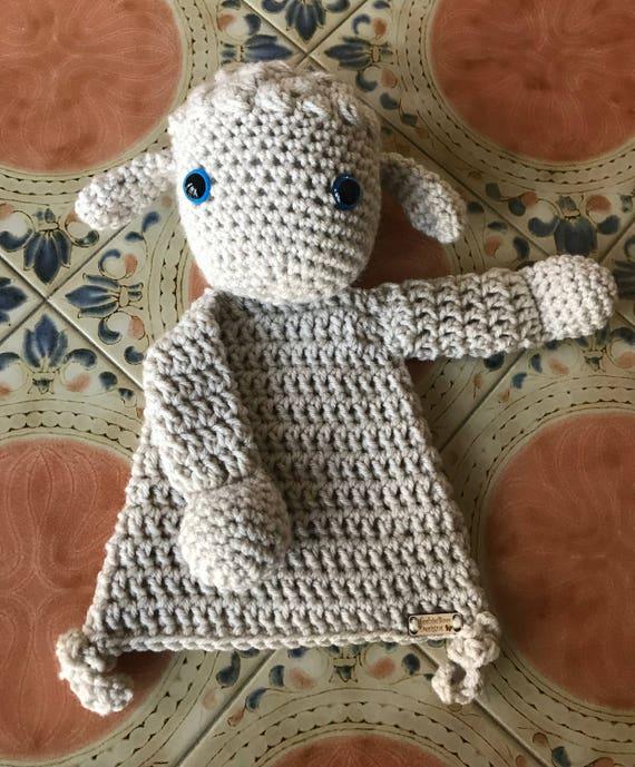Linen Little Lamb Rag Doll Toy/Lovey