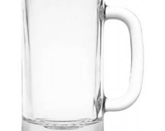 Blank 16 Ounce Beer Mug that You Design.