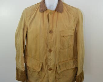 on sale Vintage EMPIRE Hunting Coat jacket 1950's USA made North Carolina