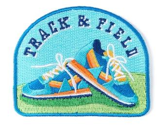 Track & Field Velcro Patch