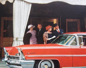 1957 Lincoln and DuPont Advertisement