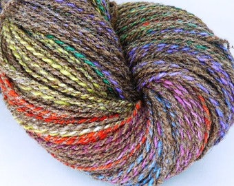 Handspun Wool Yarn!  400 Yards of Worsted Weight for Your Favorite Socks!