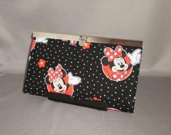 Wallet - DIVA Wallet - Clutch Wallet - Minnie Mouse