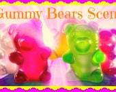 GUMMY BEARS CANDY Scented Soy Wax Melts Tarts - Kids Of All Ages Favorite - Dupe Type* - Maximum Fragranced - Hand Poured - Handmade In UsA