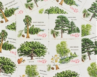 American Trees .. 15cent stamps .. 20 postage stamps