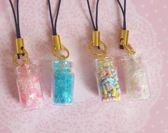 Tiny Bottle Charms