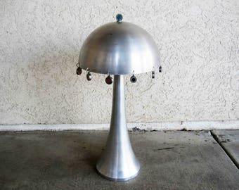Vintage Airflow Aluminium Table Lamp. Circa 1960's - 1970's.