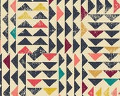 Art Gallery Fabric Indie Folk Collection Trojkat Sunrise Choose your cut