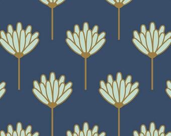 Floret in Honeydew, Blush Collection by Dana Willard Art Gallery Fabric, Choose your cut