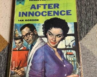 Vintage 1955 After Innocence Ian Jordan Novel