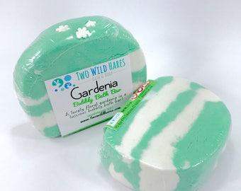 GARDENIA Bubbly Bath Bar, Solid Bubble Bath, 3.5 oz