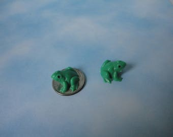 Vintage MICRO-Miniature Frogs Made in West Germany