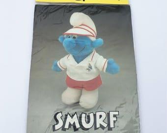Vintage NOS Smurf Wardrobe Tennis Outfit Fits Floppy Smurf Plush