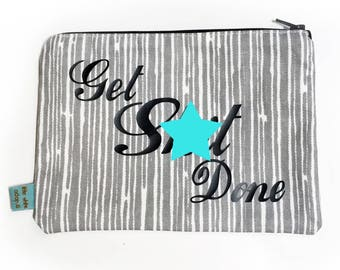 Get Shit Done Zipper Pouch