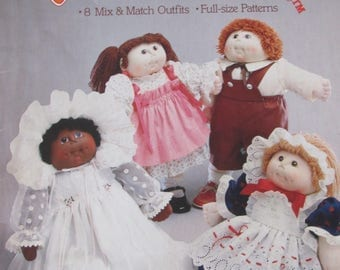 The Original Doll Baby, Easy to Sew Fashions, 1984, 8 Mix & Match outfits