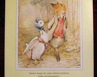 Jemima Puddle-Duck Beatrix Potter poster