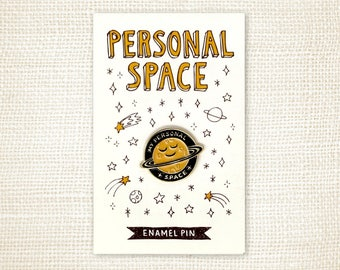 Enamel Pin - Personal Space