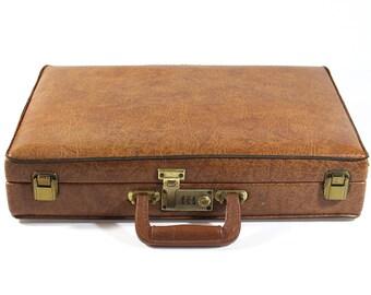 Vintage Brown Briefcase