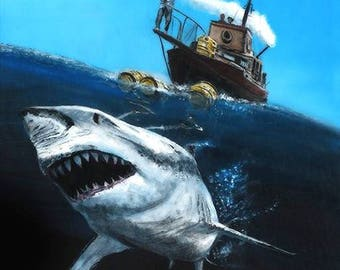 Jaws Limited Edition Art Print