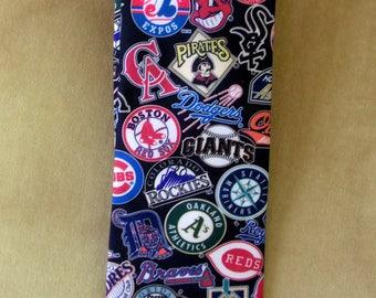 RARE 1990s Ralph Marlin Teams Baseball Logos Necktie Novelty Tie