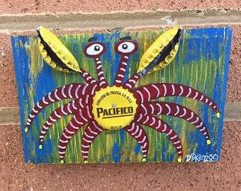 Pacifico Bottlecap Crab