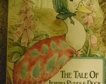 Beatrix Potters Tale of Jemima Puddle Duck---Childrens  Book  1-8 Dollar SALE