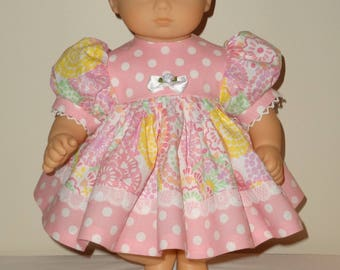 Dress and Headband for 15 inch Bitty Baby