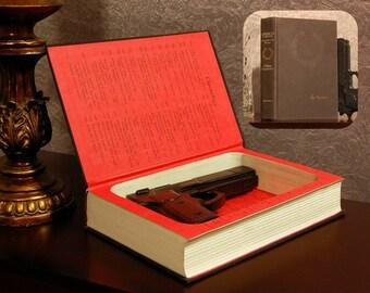 Hollow Book Gun Safe - Vintage 1978 American Caesar: Douglas MacArthur - Secret Book Safe