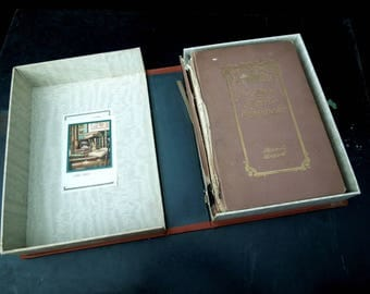 The Story of Marie Antoinette by Anna L. Bicknell - Folding Slipcase Edition 1897 - French Royalty France History  Revolution