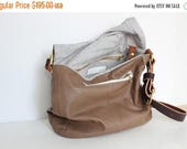 ON SALE CHLOE Tan Leather cross body, messenger bag, shoulder bag