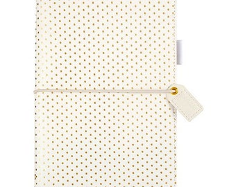 Gold Dot Travelers Webster's Pages Color Crush Travelers Planner Journal (IN STOCK) Free Washi Tape with this order (TJ001-GD)