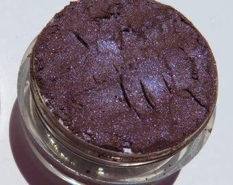 Rich Deep Dark Purple Eye Shadow| Blue Shimmer| Cruelty-Free| Vegan Mineral EyeShadow - Guinevere