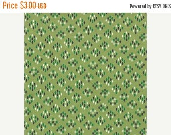 last call Color Me Happy from V and Co and Moda fabrics, Cluster Drops Light Green, 1/2 yard total
