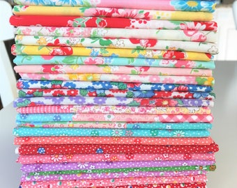 Old New 30's Spring Collection 2014 Lecien reproduction fat quarter bundle OOP HTF