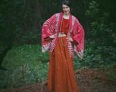 R E S E R V E D for Alpine Gypsy.....Kimono Cardigan / Fringed Kimono / Boho Kimono / Kimono Jacket / Kimono Jacket For Women /