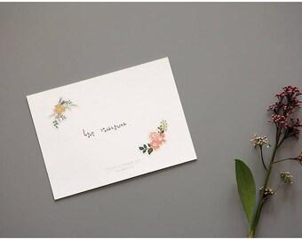 Cute stickers -flower or flower wreath