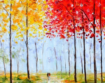 Custom Autumn Melody romance landscape by Karen Tarlton - final payment for Brenda