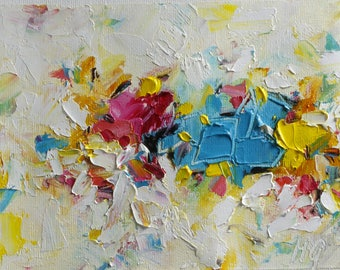 Oil Abstract Painting  Abstract Painting Oil Painting  Modern Painting Contemporary Painting Palette Knife Painting Oil Artwork Painting