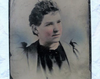 Tintype, Full Plate - Simply Lovely Young Lady