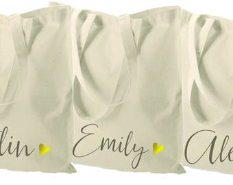 bridesmaid tote bag, canvas tote bag