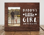 Custom Fathers Day Gift from Daughter Fathers Day Photo Frame Birthday Gift for Dad from Daughter Cute